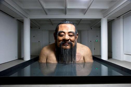 Zhang Huan estátua 9 metros de